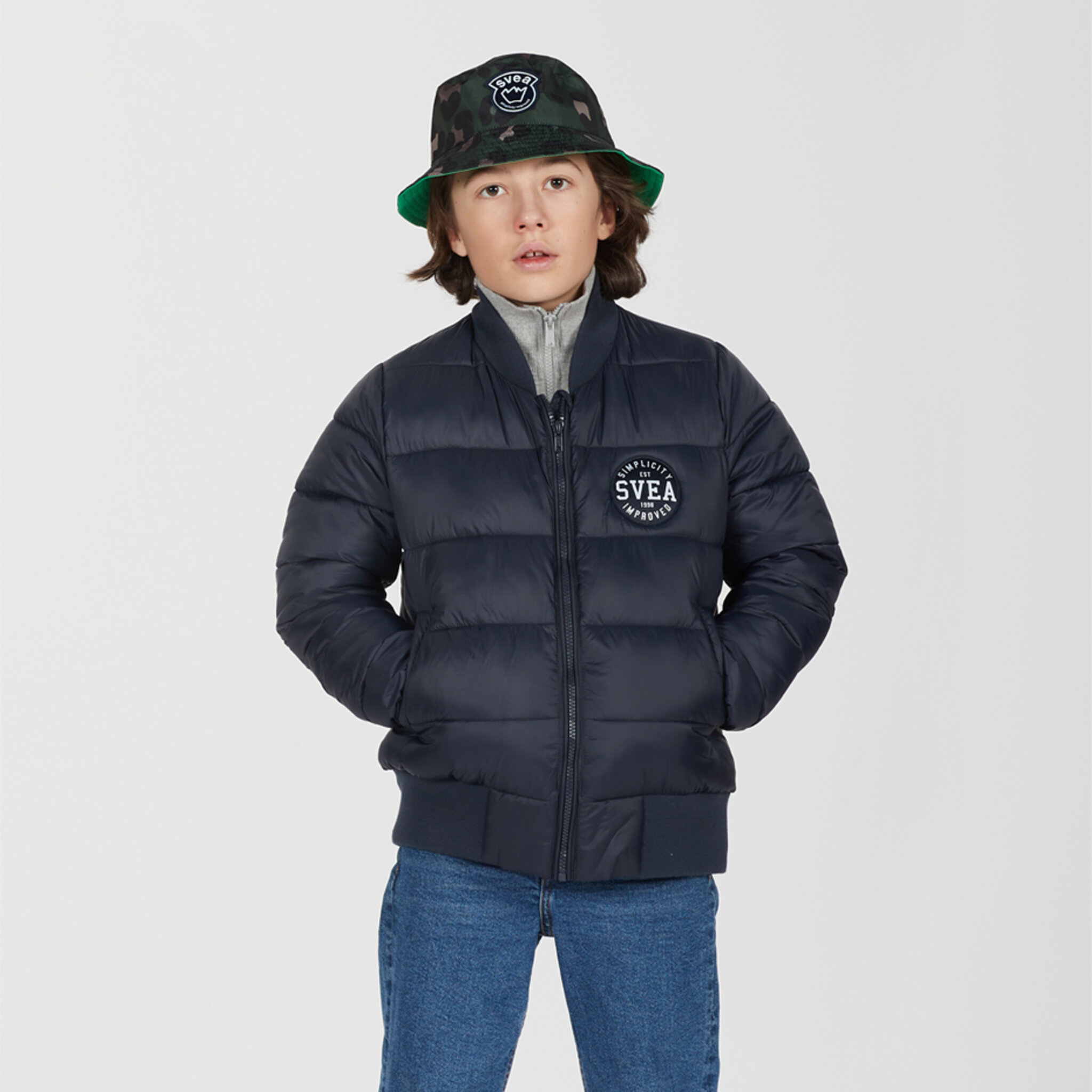 K. B Quilted Bomber Jacket