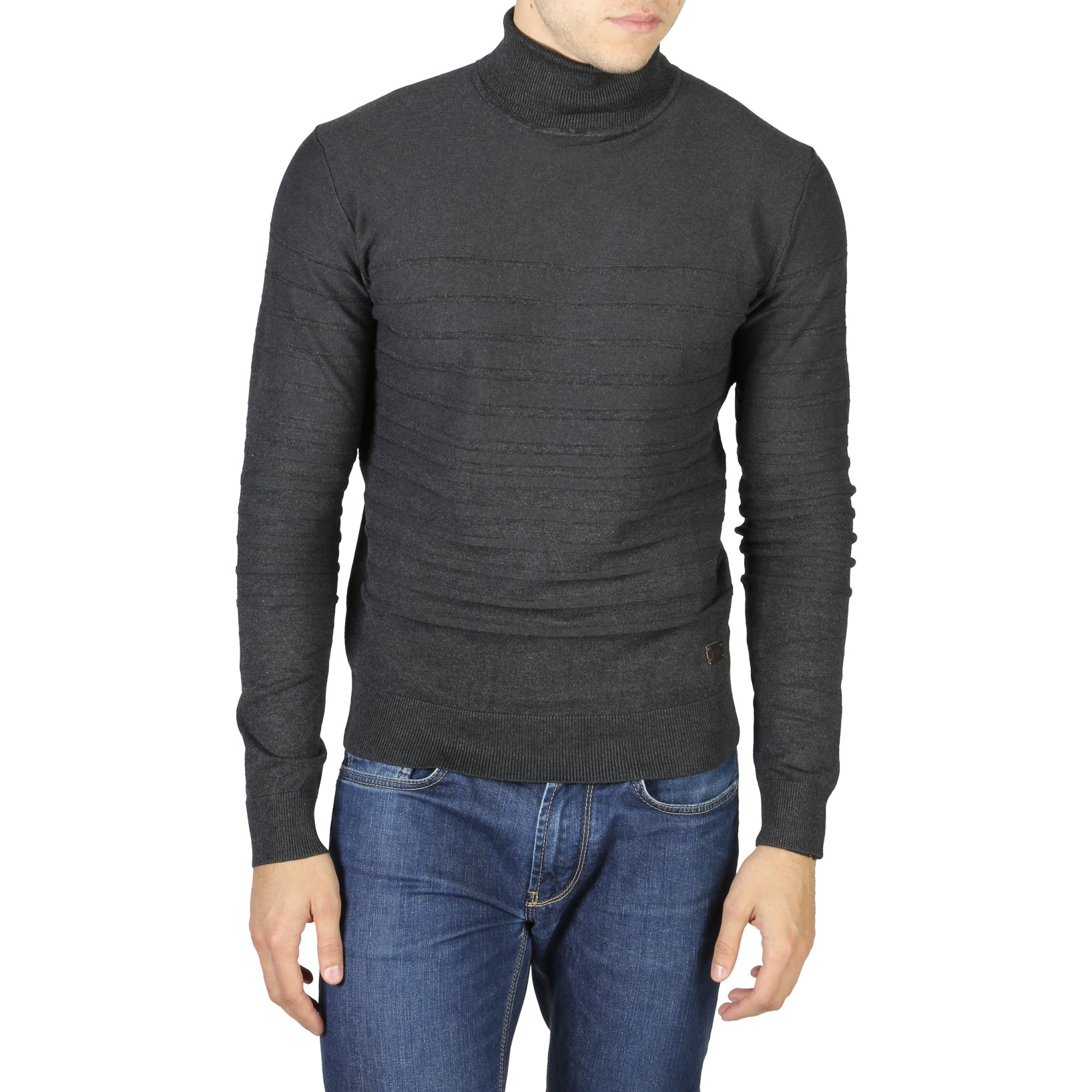 Yes Zee Men's Sweater Various Colours 0742_M836 - grey XXL