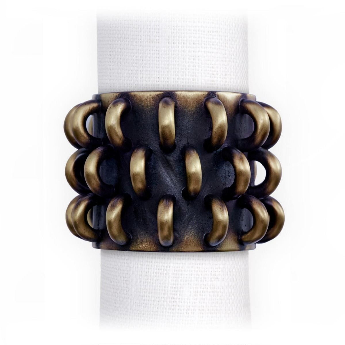 L'Objet I Tulum Rings Napkin Jewels (Set of 4)