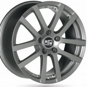 MSW 22 Grey silver 6.5x16 4/108 ET18 B65.1