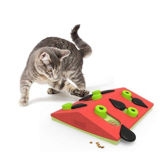 Nina Ottosson Cat Melon Madness Puzzle and Play Röd
