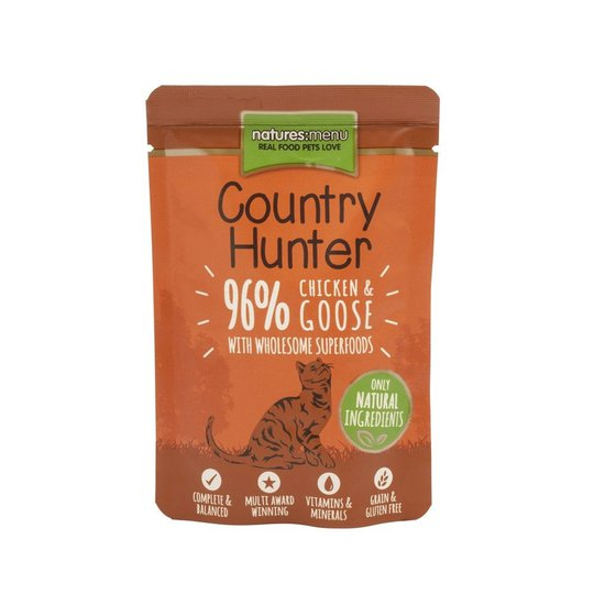 Natures:menu Country Hunter Cat Chicken & Goose 85 g