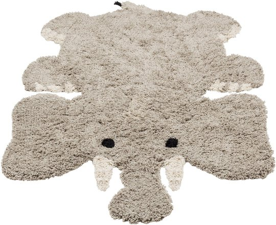 KidsDepot Eric Elephant Teppe, Grey