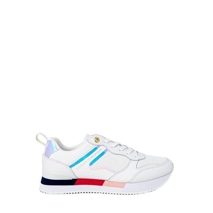 Tommy Hilfiger Jeans Women's Trainer White 205429 - white 37
