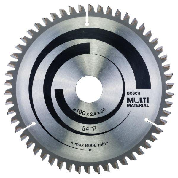 Bosch 2608640509 Sagklinge 190 x 2 x 30 mm, 54T