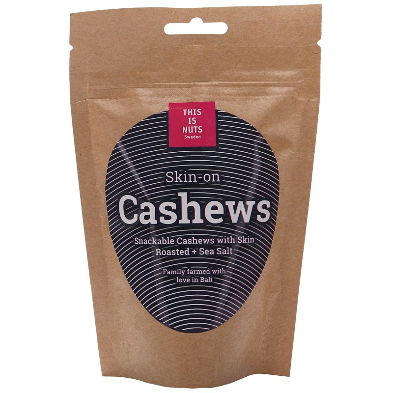 Cashewnötterna med Skinn Roasted + Sea salt - 29% rabatt