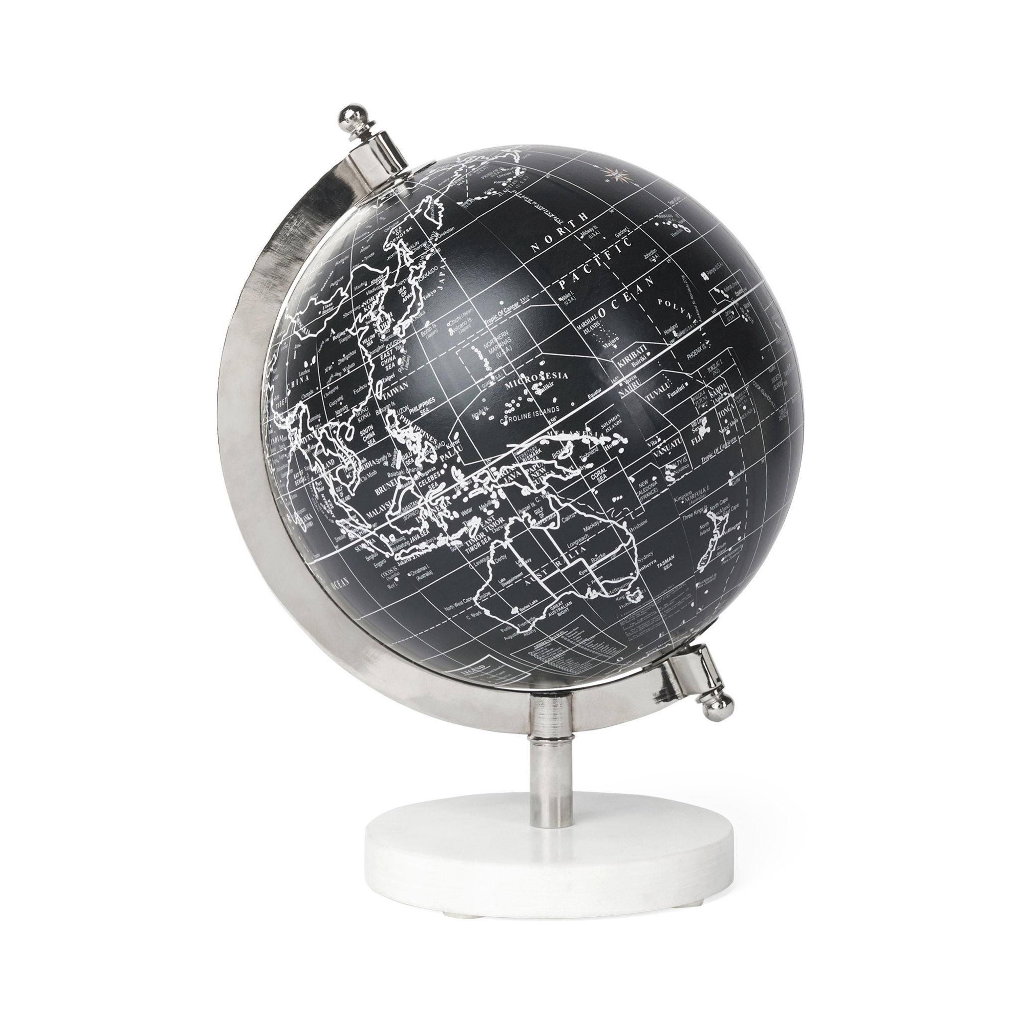 Jordglob, Marble Ø 15 cm