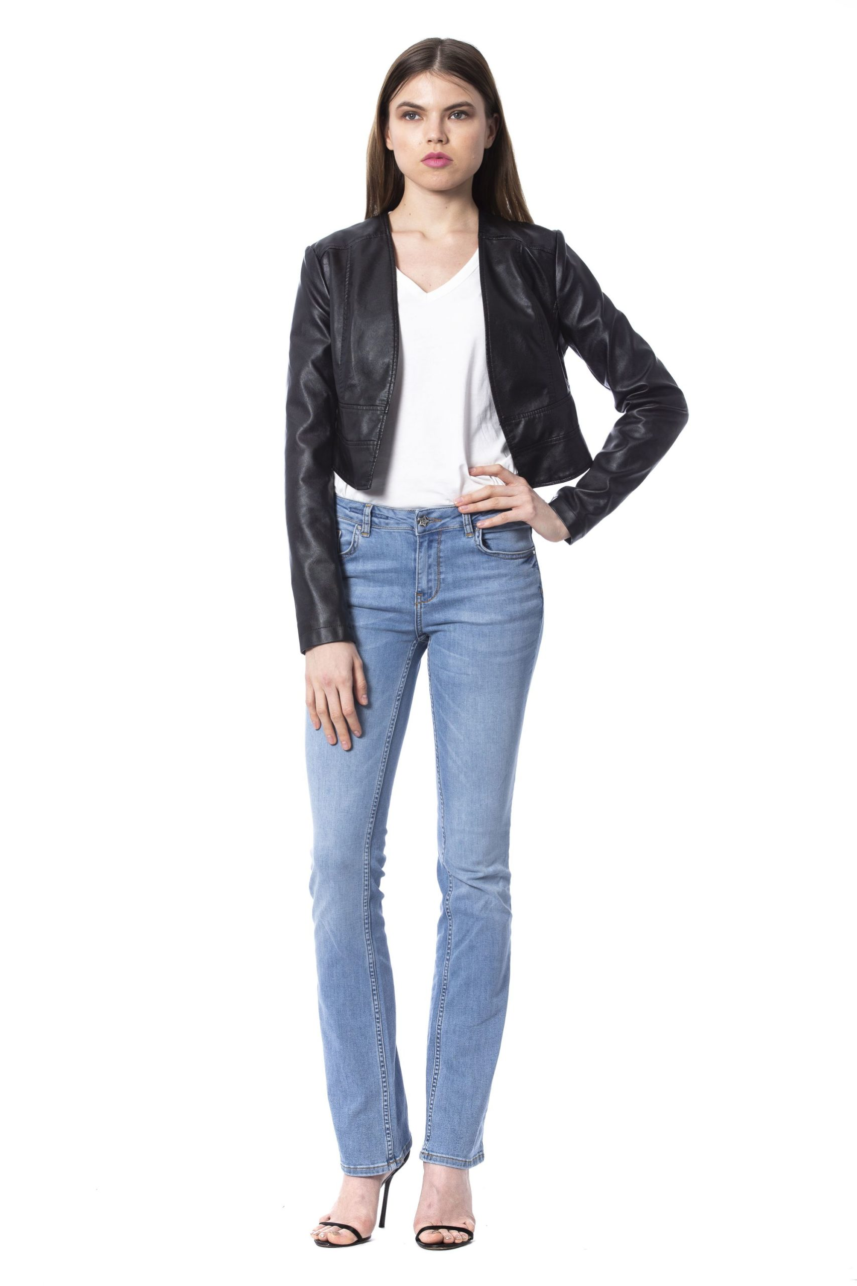 Silvian Heach Women's Jackets Black SI993926 - S