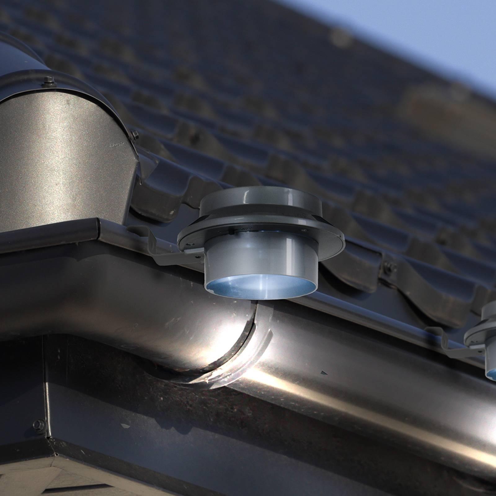 Aurinkokäyttöinen LED-räystäsvalaisin Mistra 6 kpl