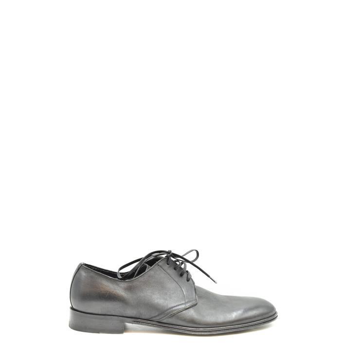 Dolce & Gabbana Men's Lace up Shoe Black 198687 - black 41