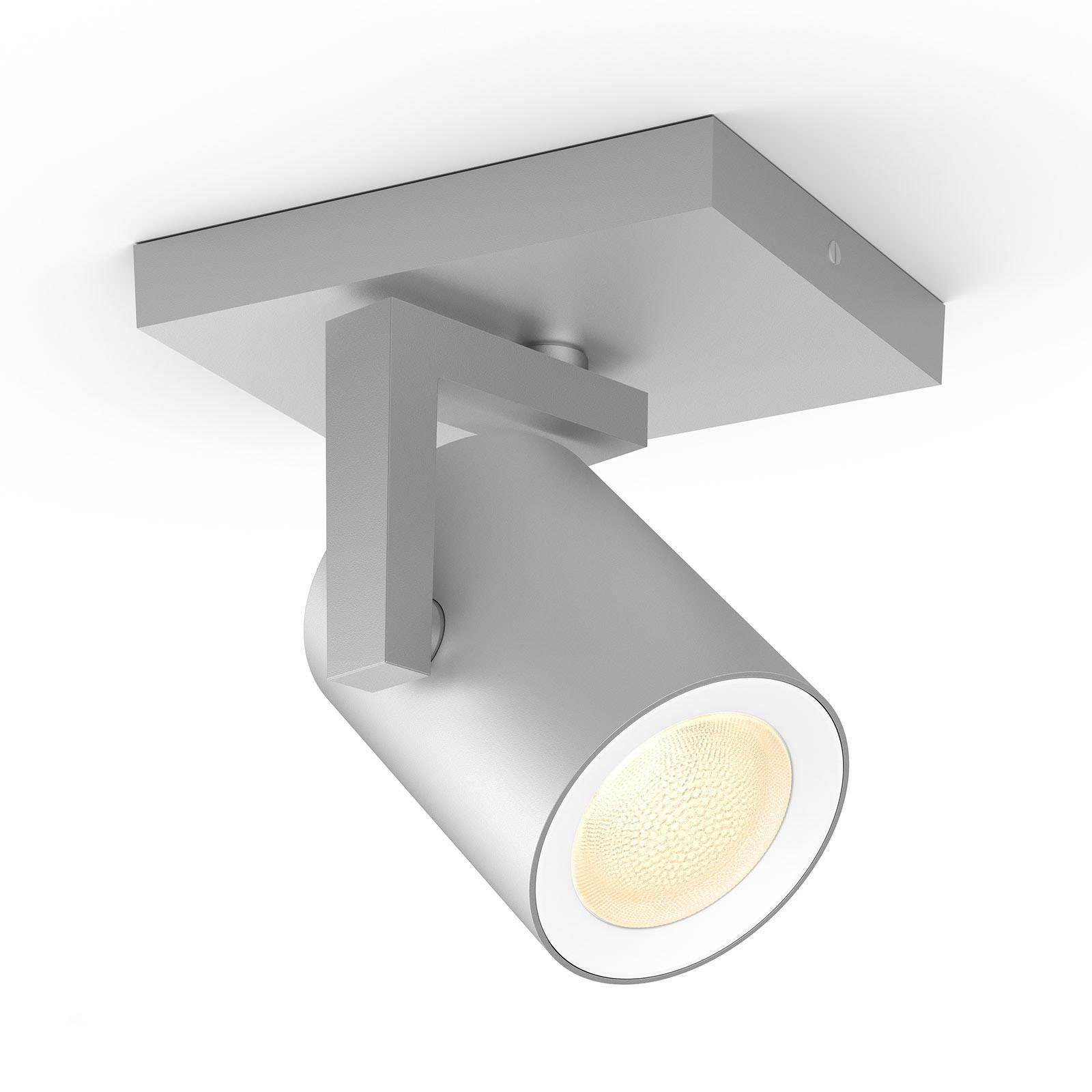 Philips Hue Argenta LED-spotti 1-lamppuinen alu