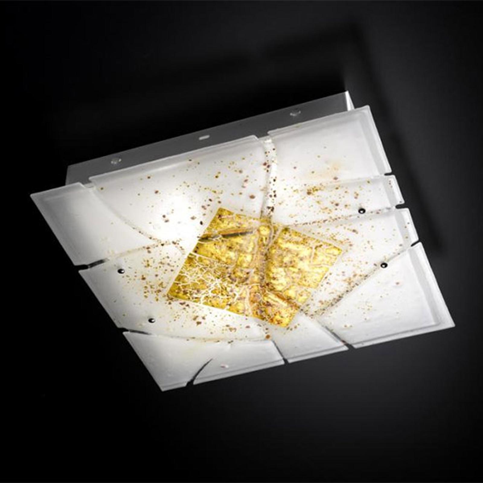 Nelikulmainen Frame-kattovalaisin, E27