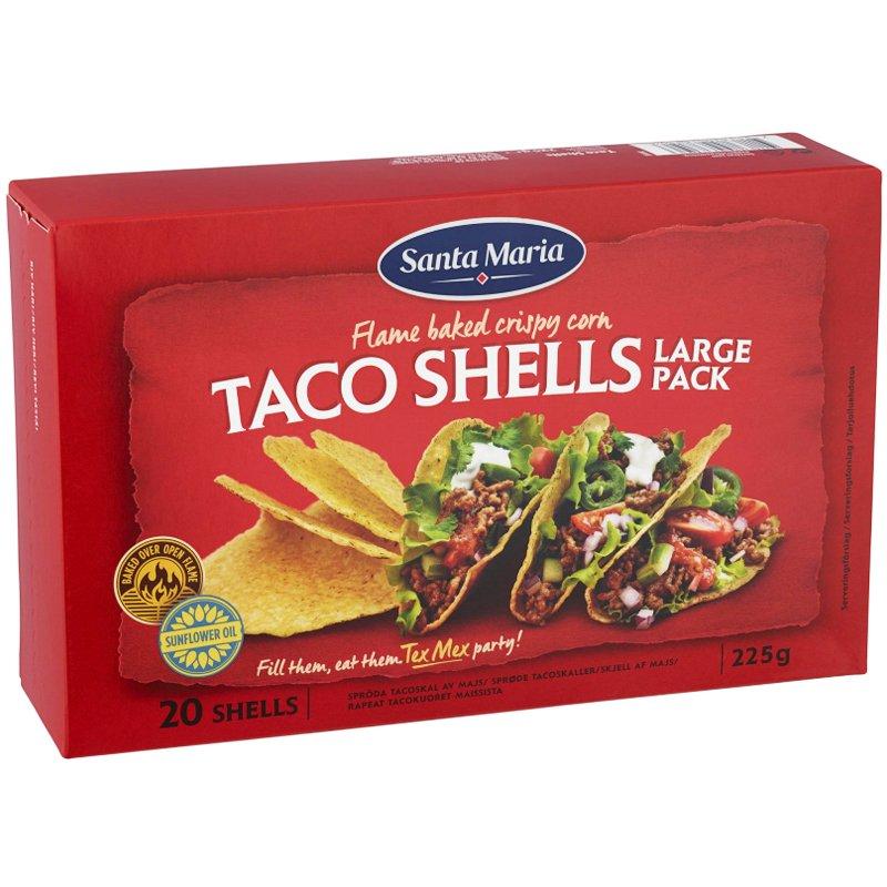 """Tacoskal """"Large Pack"""" 225g - 21% rabatt"""