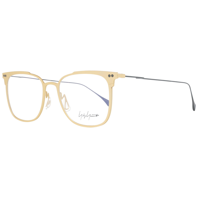 Yohji Yamamoto Men's Optical Frames Eyewear Gold YY3026 53403