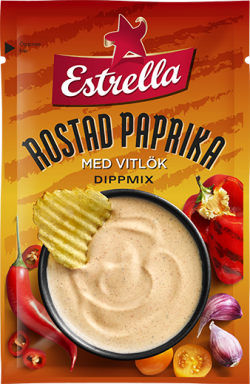 Estrella Dipmix Rostad Paprika & Vitlök 24g