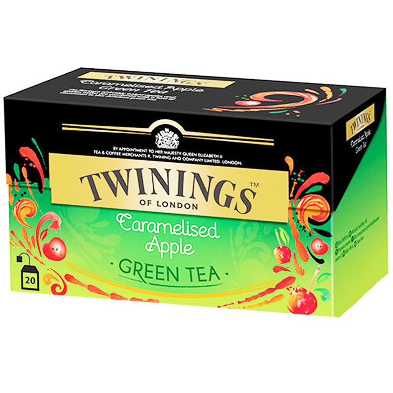 Vihreä tee, karamelliomena 20 kpl - 67% alennus