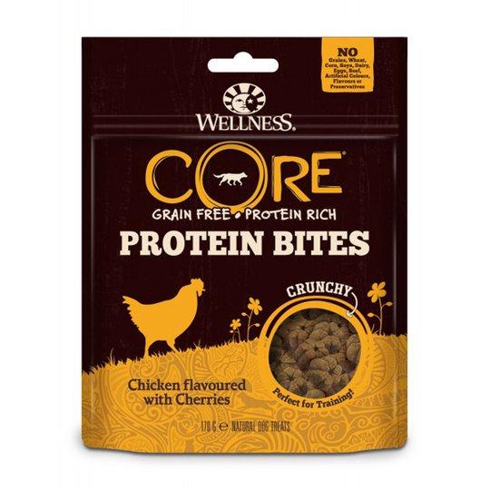 CORE Dog Bites Crunchy Chicken Cherries 170 g