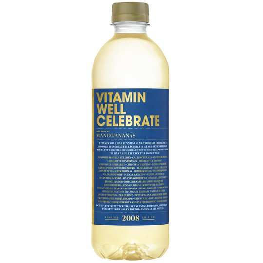 """Dryck """"Celebrate"""" Ananas 500ml - 50% rabatt"""