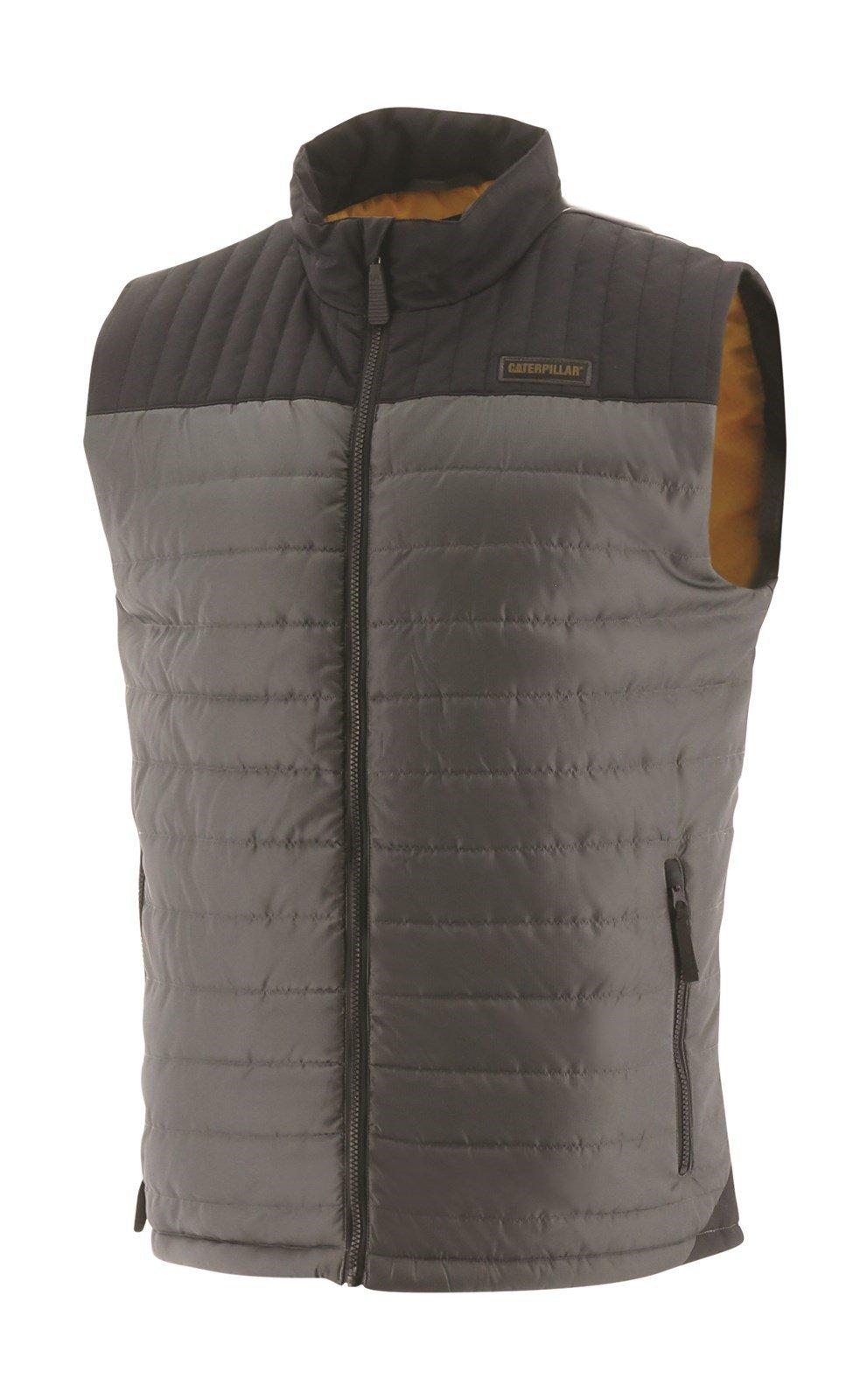Caterpillar Unisex Squall Vest Body Warmer Sweatshirt Dark Marine 31678 - Dark Shadow Sml