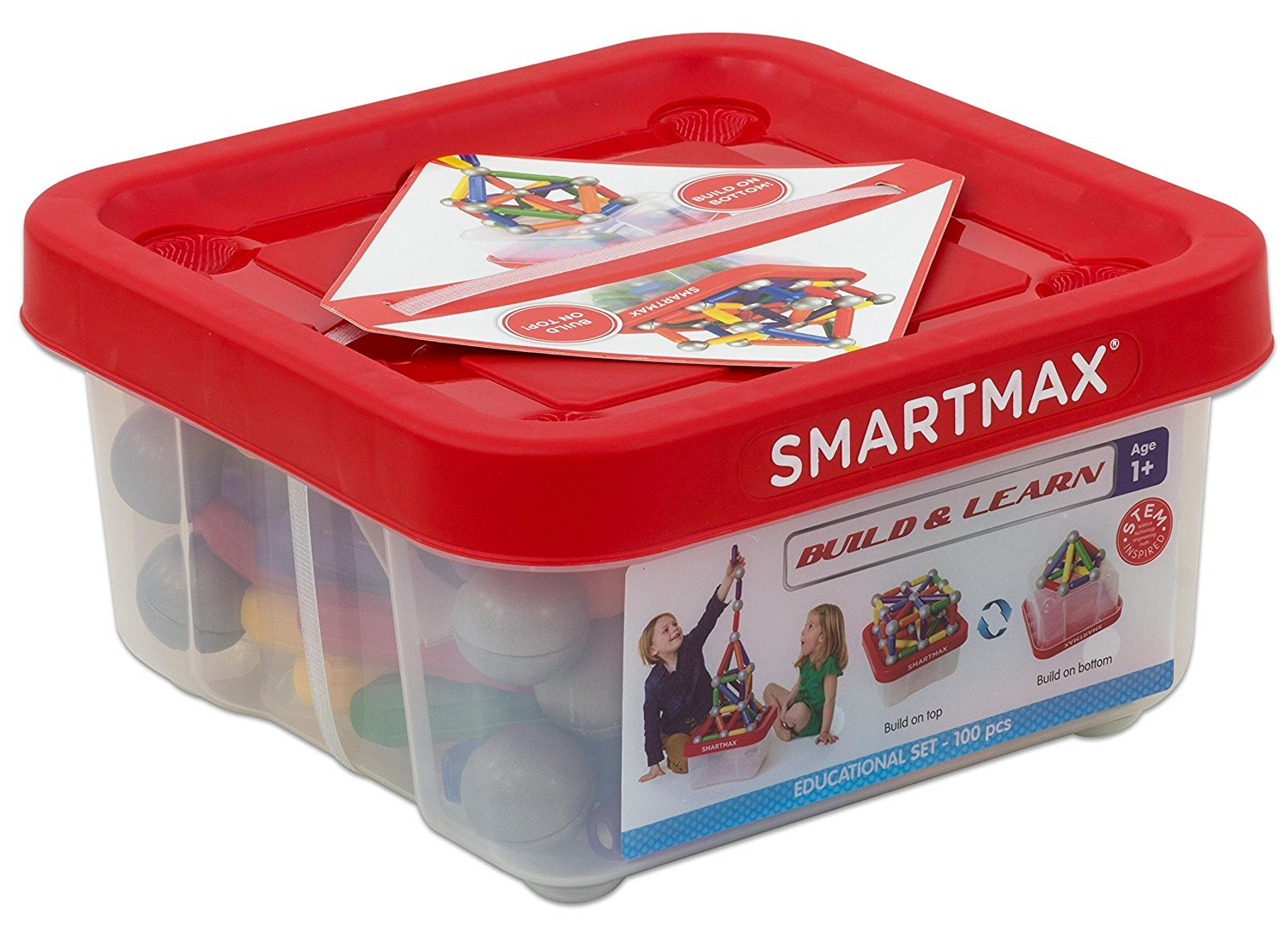 Smart Max - Build and Learn Educational 100 (SG4982)