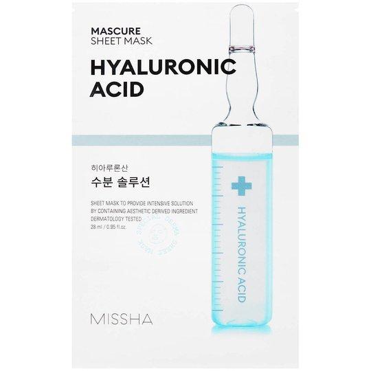 Mascure Hydra Solution Sheet Mask, 27 ml MISSHA Vaihe 7: Kangasnaamio