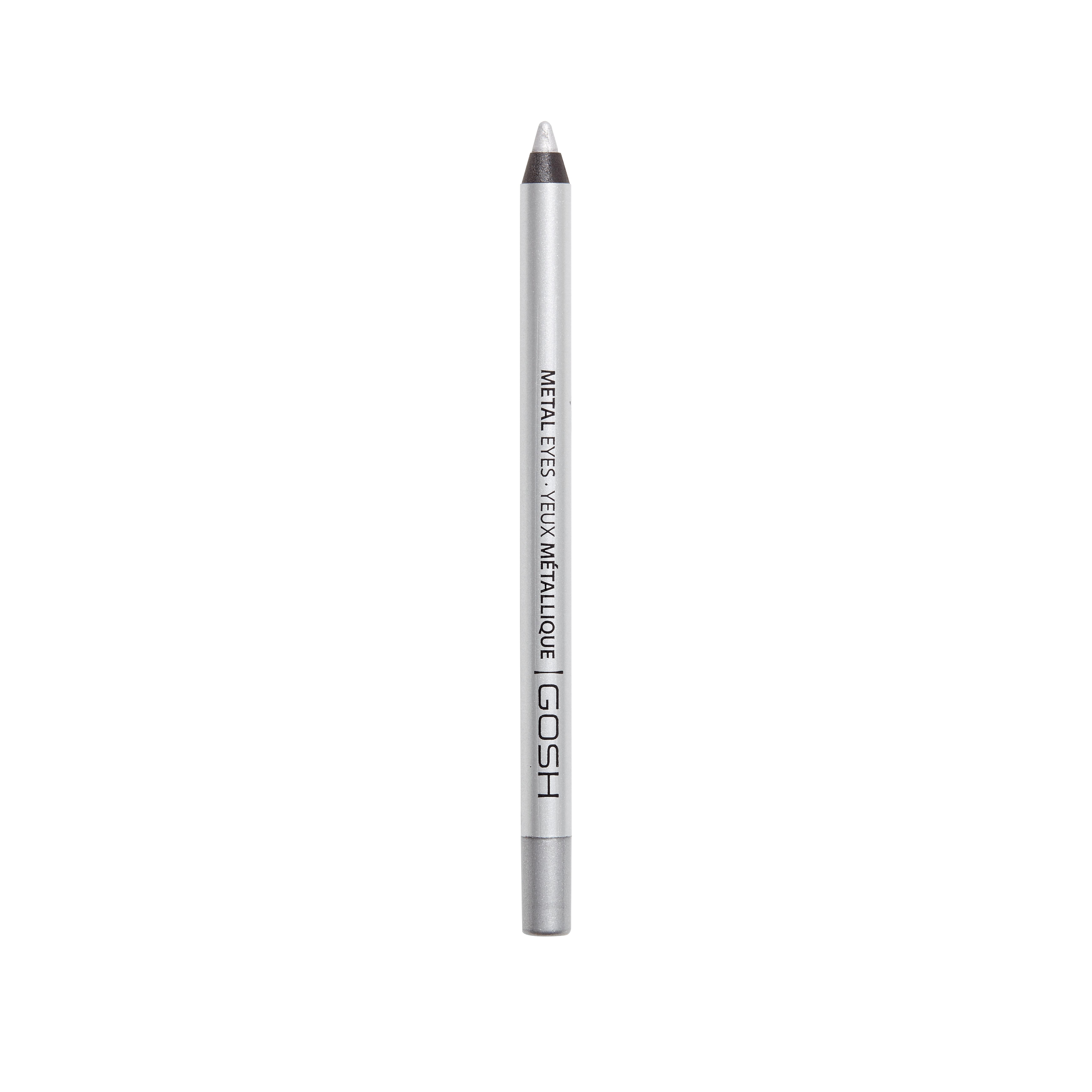 GOSH Copenhagen - Metal Eyes Eyeliner - 004 Silver Stone