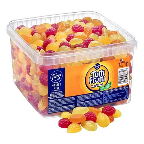 Tutti-Frutti Original Lösvikt i Burk - 2.2 kg
