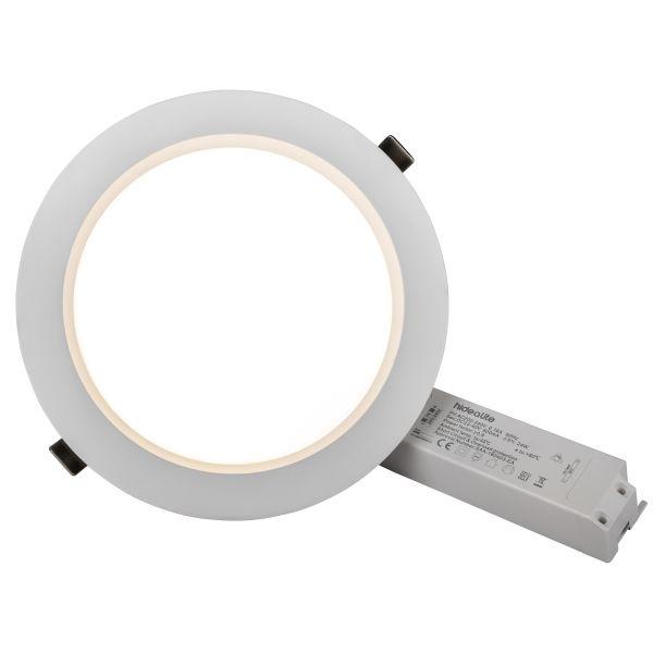 Hide-a-Lite DL Plano Basic Alasvalo valkoinen Ø230 mm