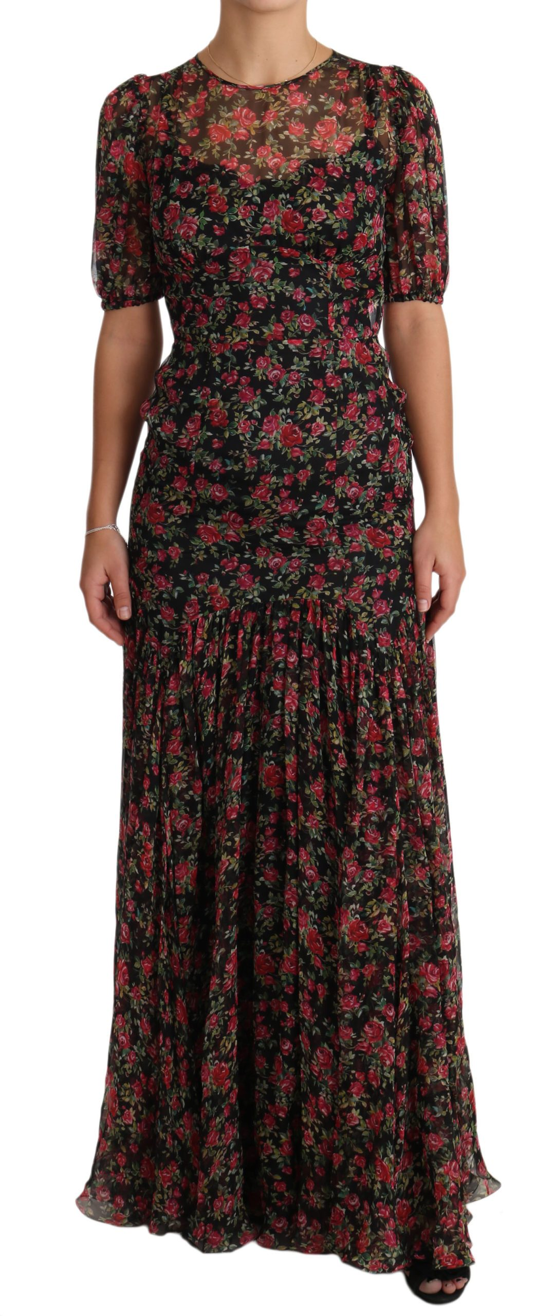 Dolce & Gabbana Women's Dress Black DR1904 - IT38|XS