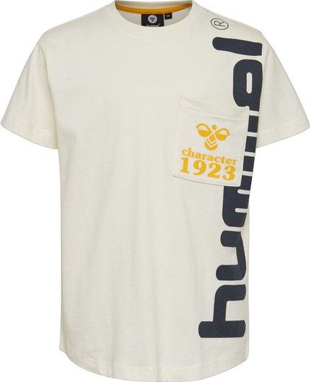 Hummel Torben T-Skjorte, Whisper White, 104