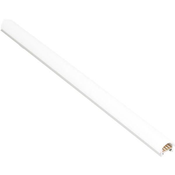 Hide-a-Lite Curl Dekklokk til aluminiumsprofiler, 2 m Opalhvit