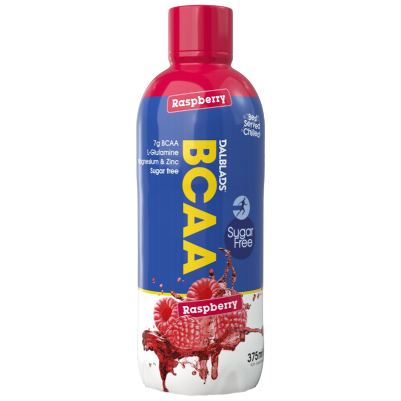 "BCAA-dryck ""Raspberry"" 375ml - 65% rabatt"