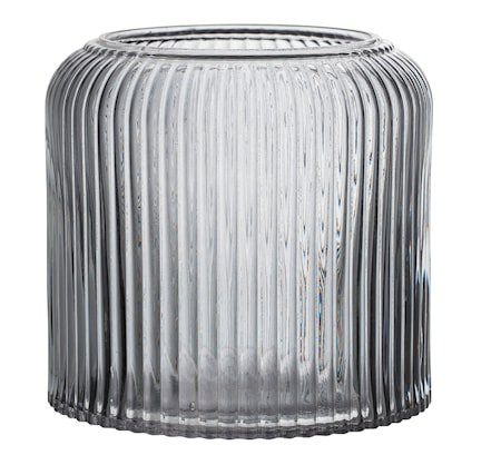 Krukke Grå Glass 14 cm
