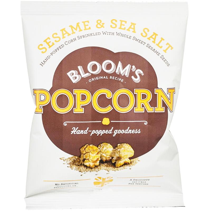 "Popcorn ""Sesame & Sea Salt"" 100g - 60% rabatt"