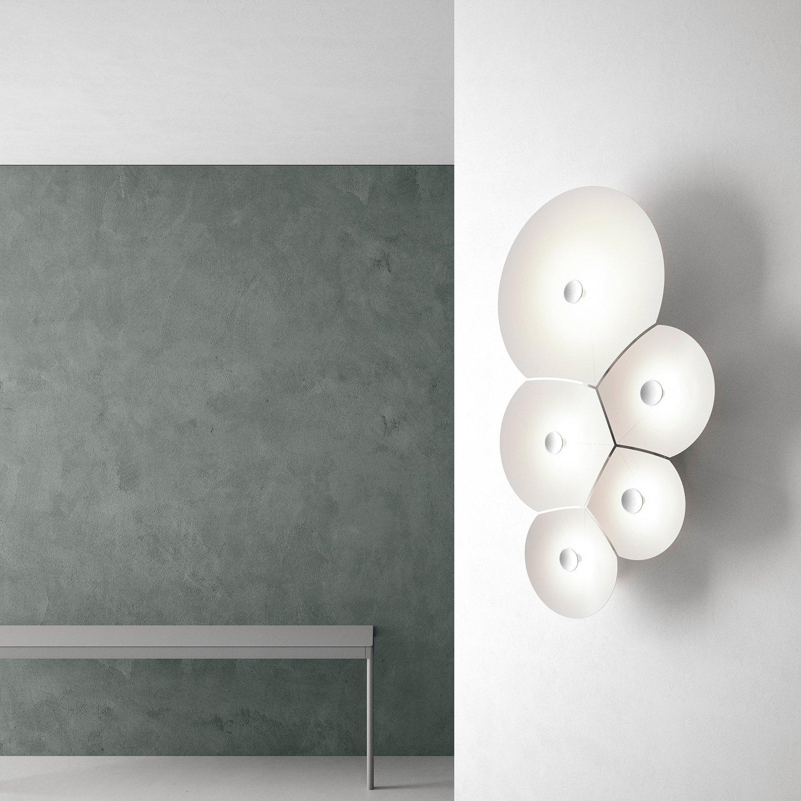 Luceplan Bulbullia LED-vegglampe 5 lyskilder