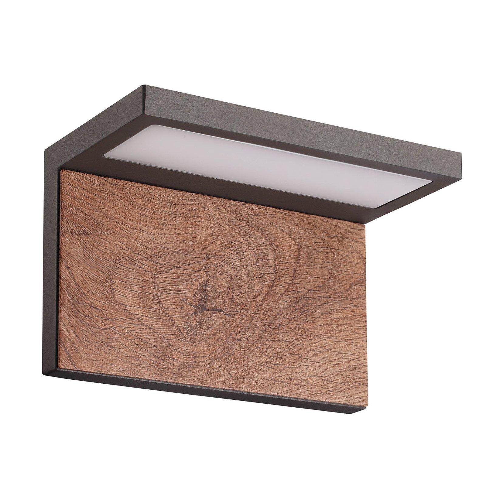 Ruka utendørs LED-vegglampe med tre-element