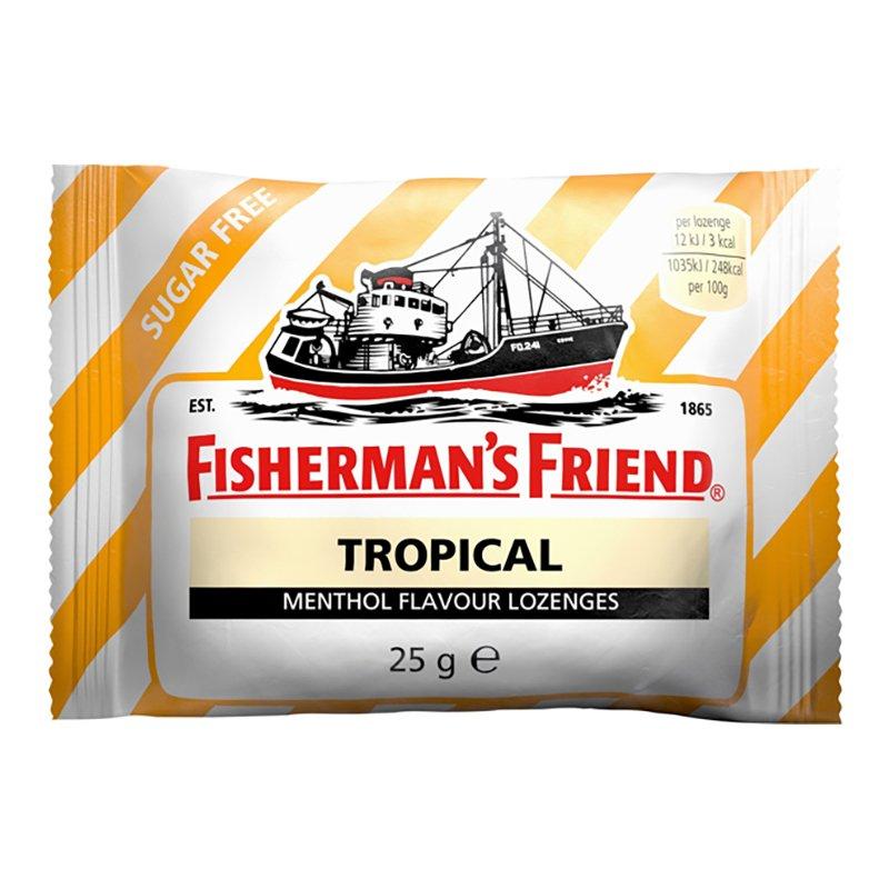 Fishermans Friend Sockerfri Tropical