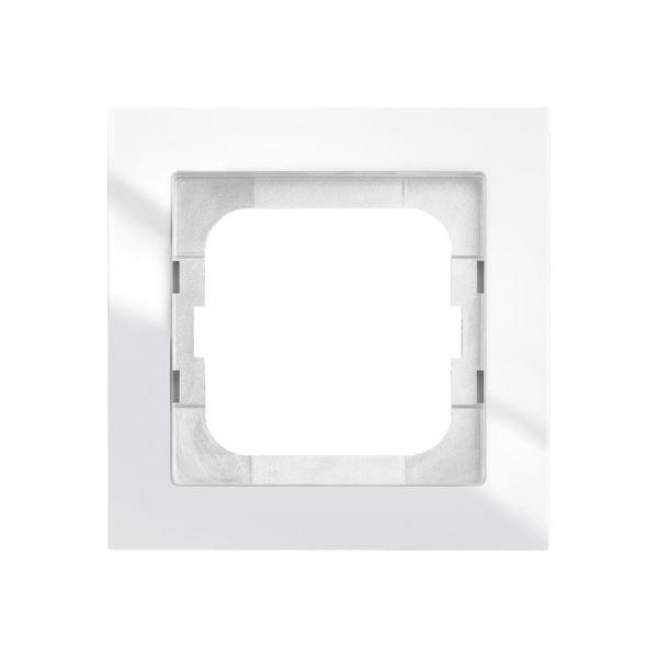 ABB Axcent Yhdistelmäkehys valkoinen 1-paikkainen