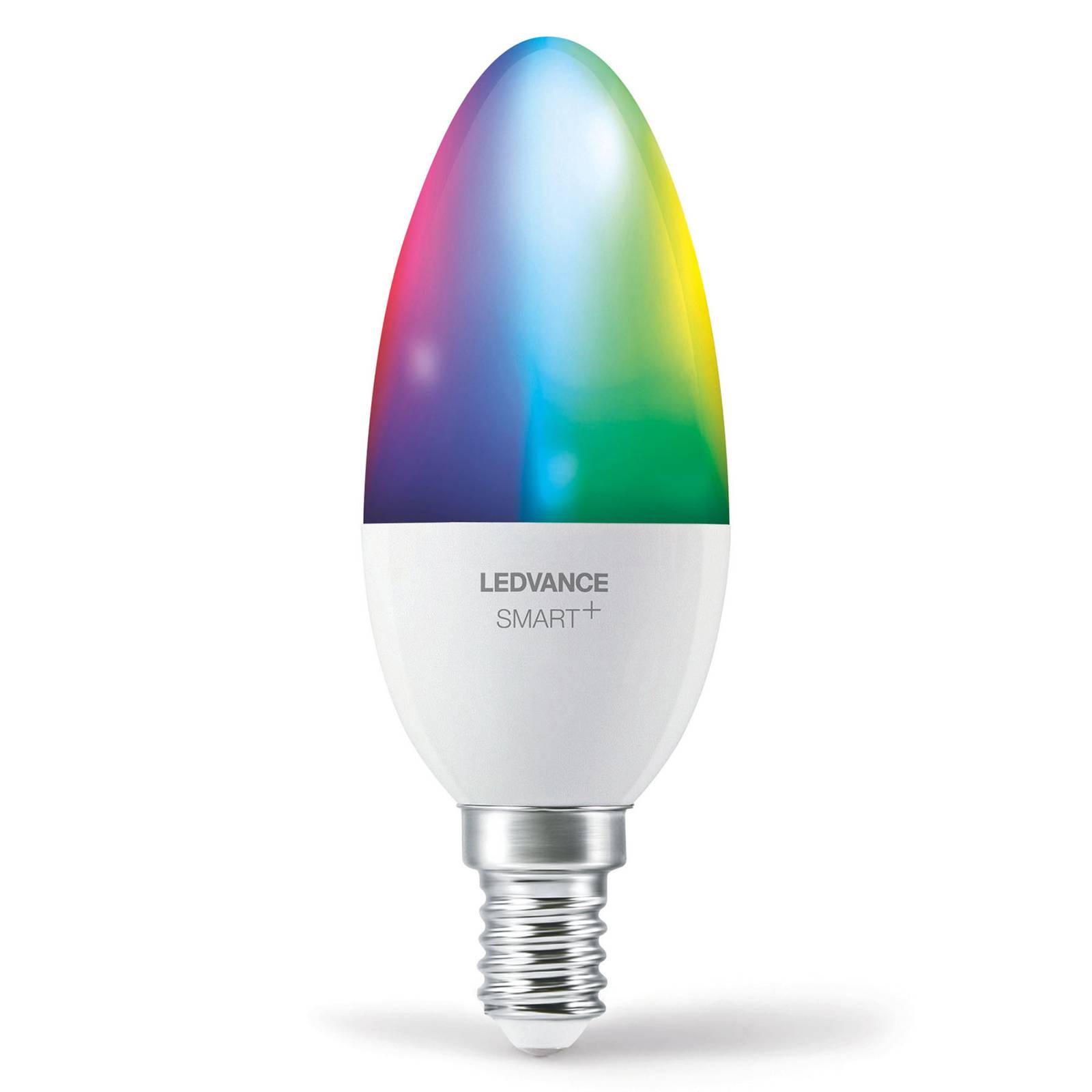 LEDVANCE SMART+ WiFi E14 5W kynttilä RGBW