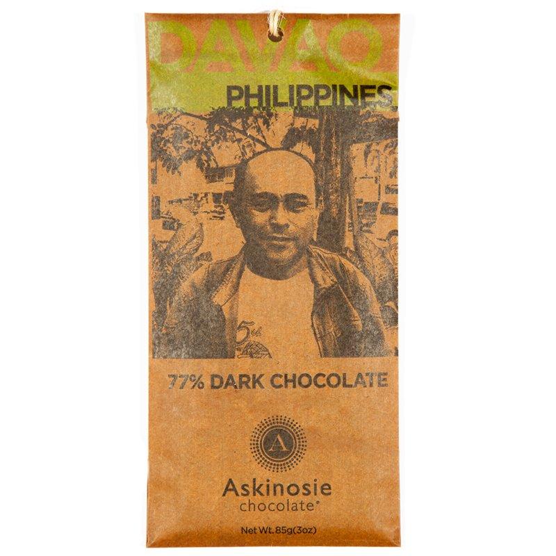 "Mörk Choklad 77% ""Philippines"" - 76% rabatt"