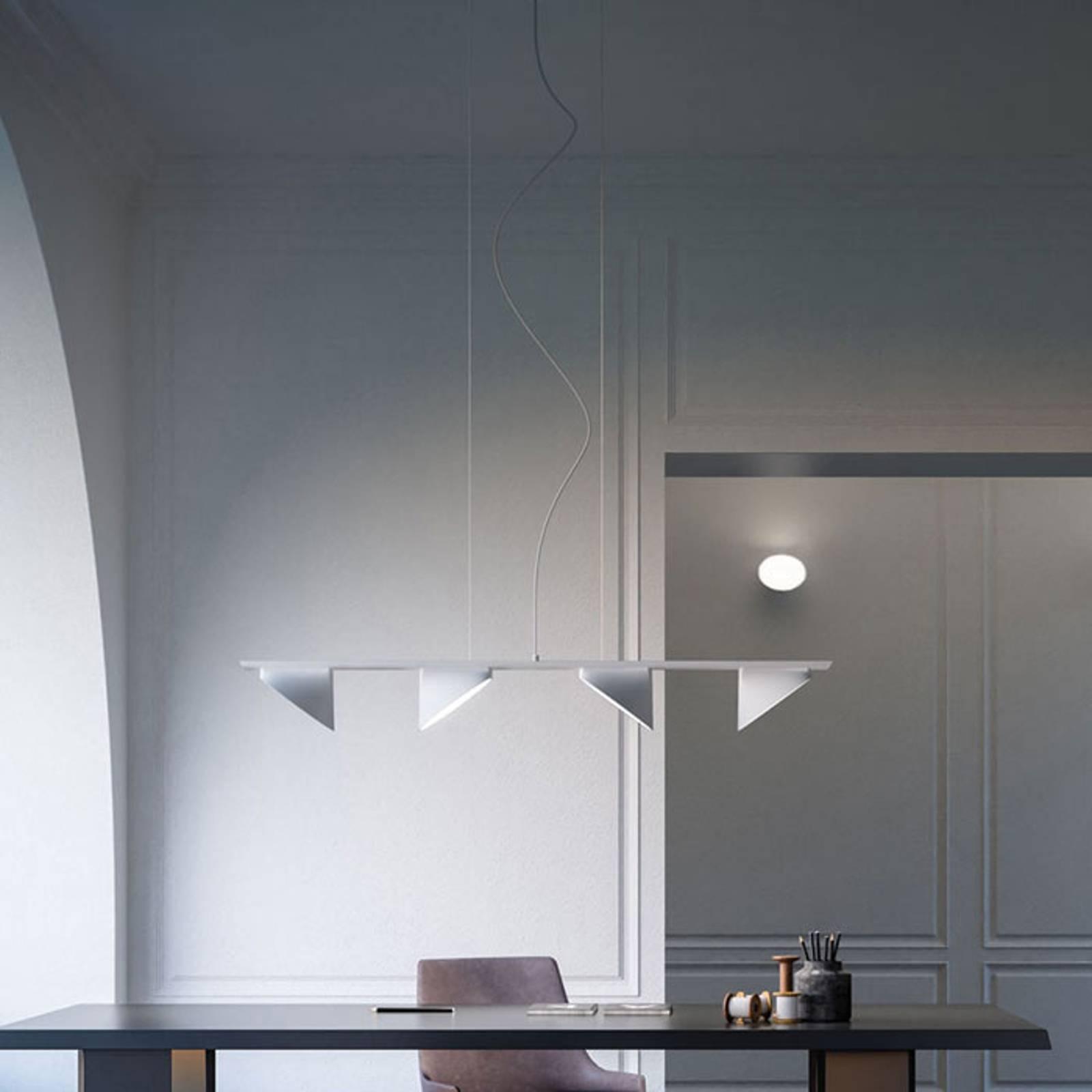 Axolight Orchid LED-riippuvalo 4 lampp. valkoinen