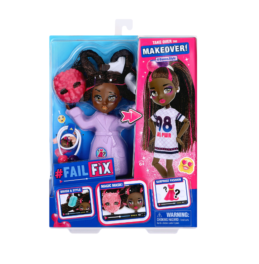 Fail Fix - Total Makeover Doll Pack - @Dance.Stylz (30186)