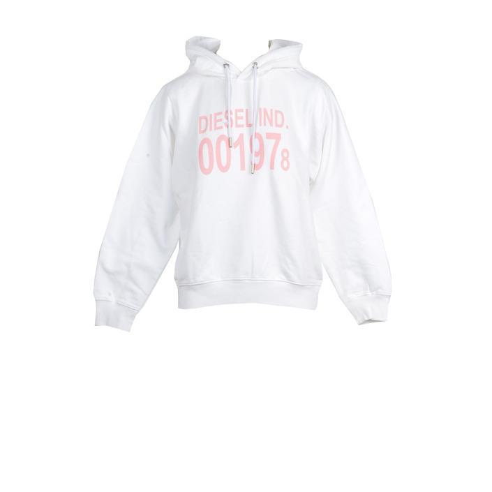 Diesel Women's Sweatshirt White 210803 - white M