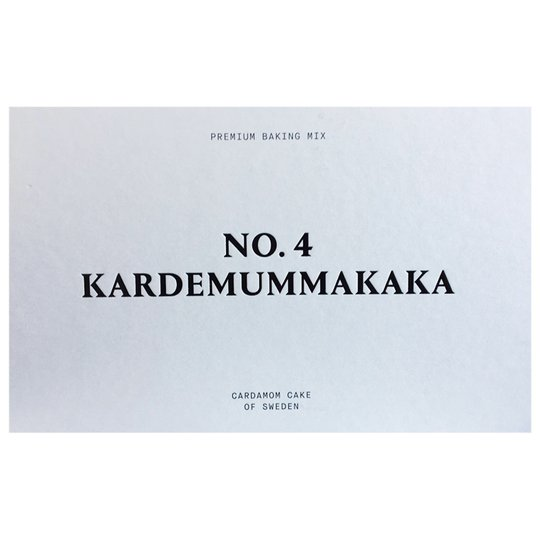 Bakmix Kardemummakaka - 61% rabatt