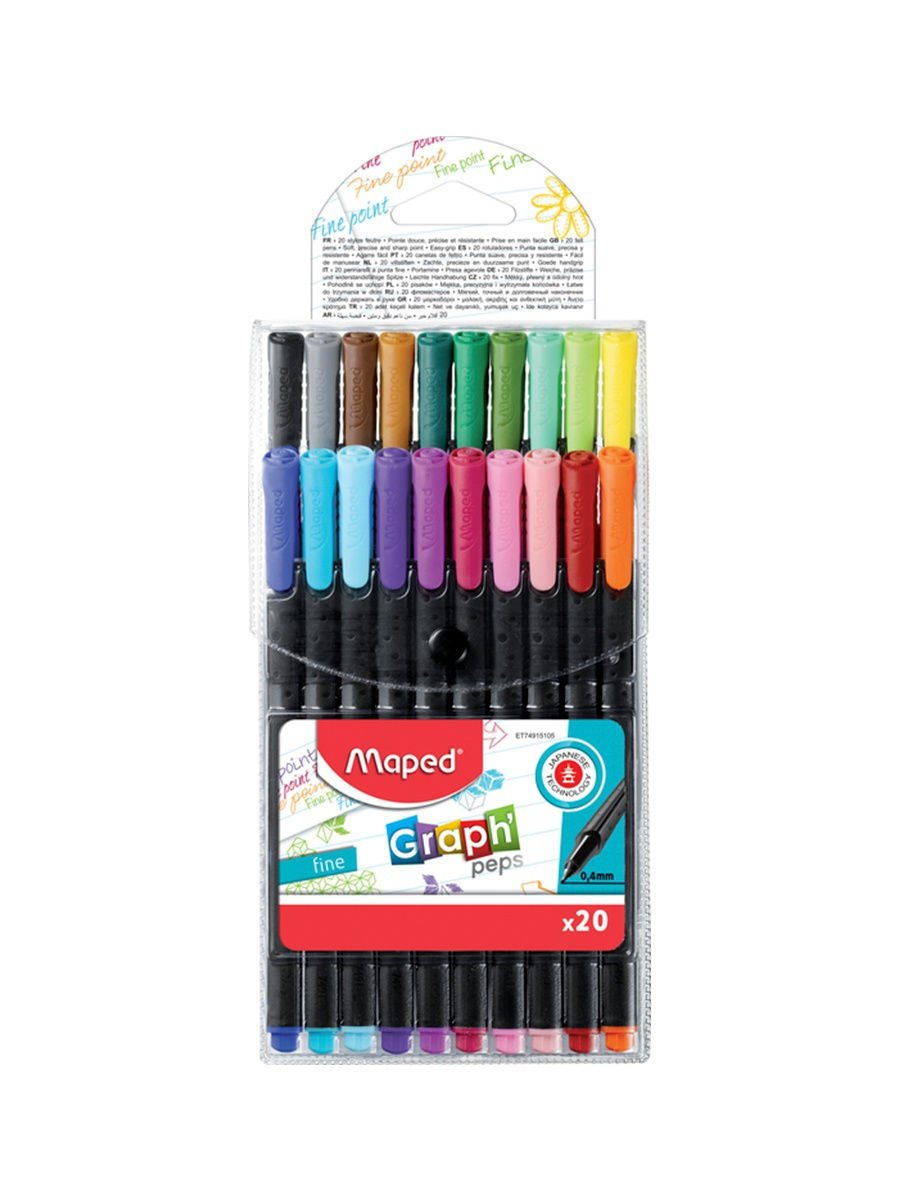 Maped - Graph Peps - Fineliners (749151)