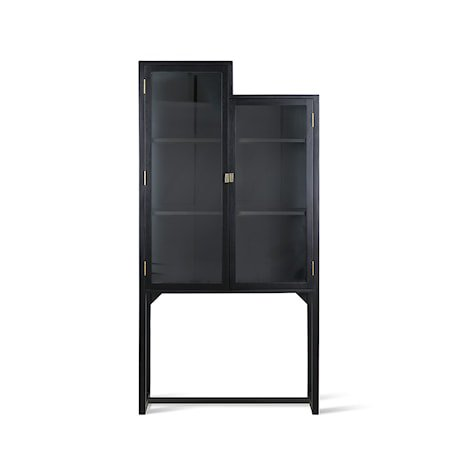 Stairs Cabinet showcase Black wood