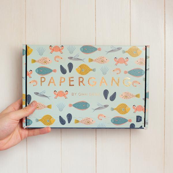 Fish Friends Papergang Box
