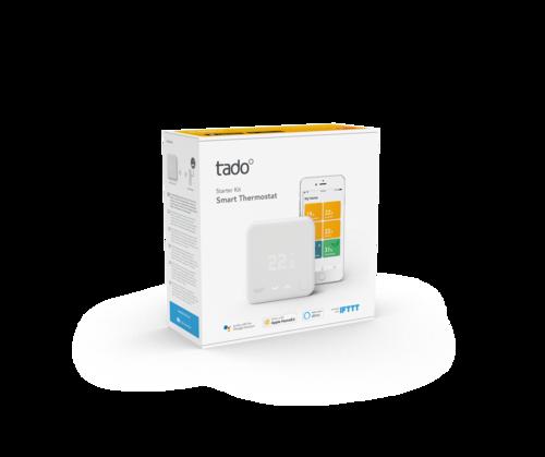 Tado Smart Thermostat Starter Kit V3+ Tillbehör Till Värmeprodukter