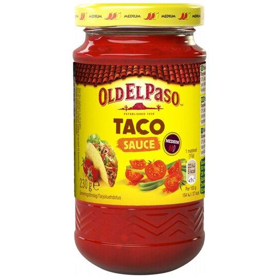 """Tacosås """"Medium"""" 230g - 33% rabatt"""