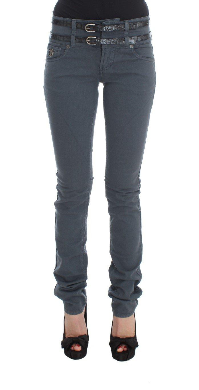 John Galliano Women's Cotton Blend Slim Fit Jeans Blue SIG30180 - W26